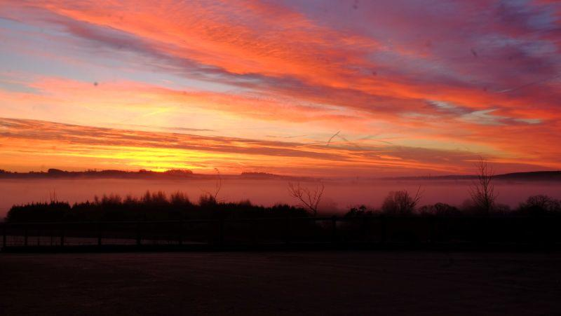 This mornings sky.. stunning