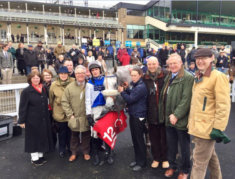 Happy KBRP owners in the unsaddling enclosure