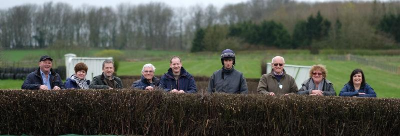 This morning team for a morning on the gallops
