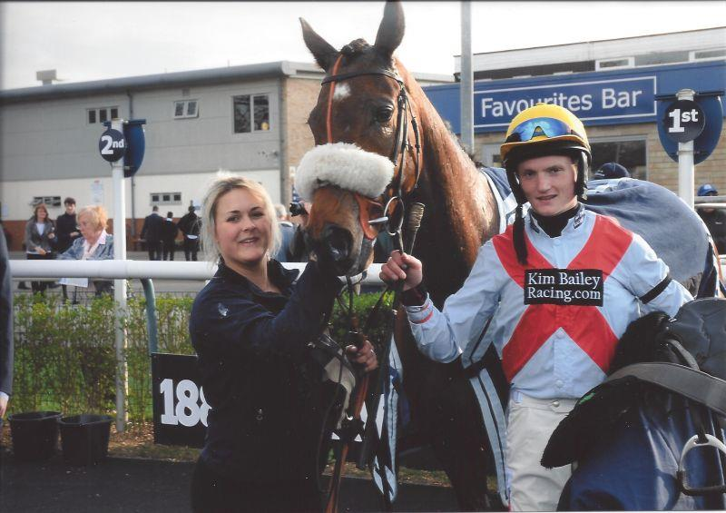 Sinead, Cresswell Legend and Mikey after an impressive win