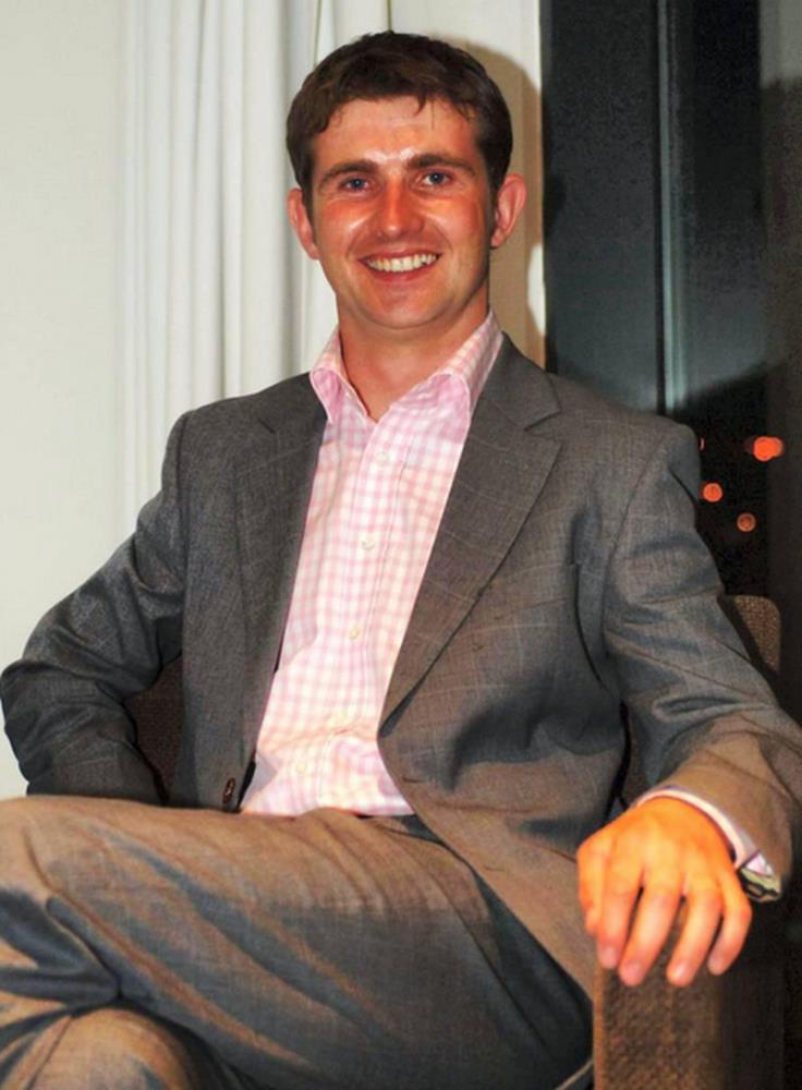 JP McNamara who was in charge of the owners and trainers facility at Punchestown yesterday