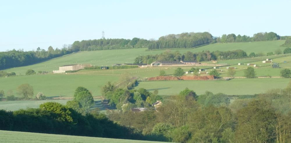 Thorndale Farm as seen from Andoversford