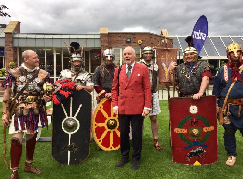 It was Roman Day at Chester so locals were out in force.