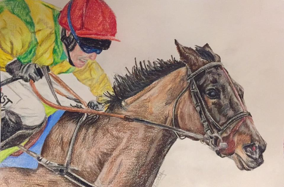 Annie's limited edition print of Sizing John