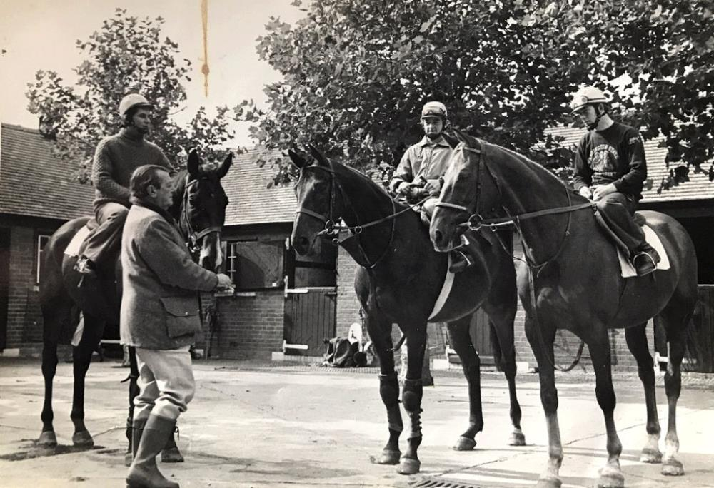 Fred Rimell with Royal Frolic (Sam Morshead) Commedy Of Errors (Mervin Heath) and Rage Trade (John Burke)