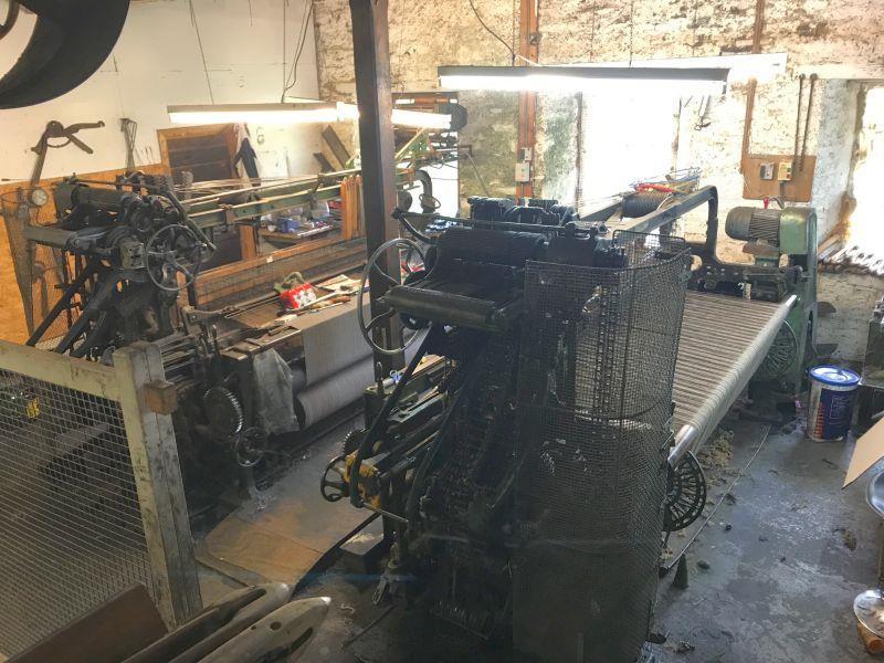 The wool mill in Islay.. Years old and still working.. new tweed for the winter?