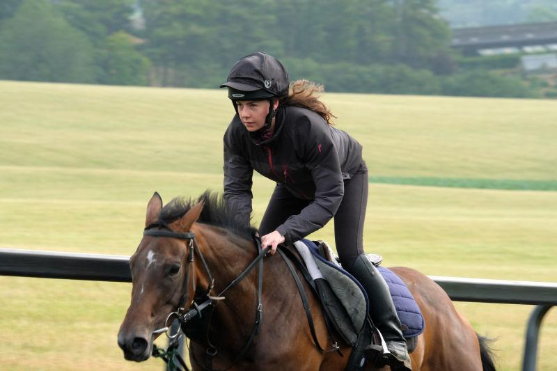 Flying Legend Filly and Sarah van Ingen