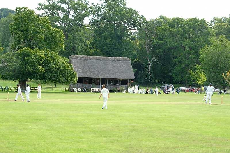 Cricket yesterday at Stanway.. Stunning setting