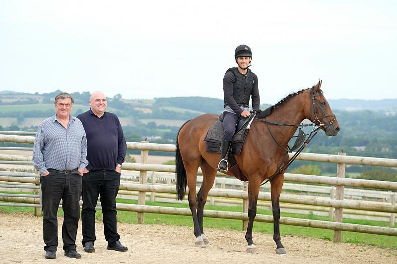 Paul and Steve with their horse Derrintogher Bliss