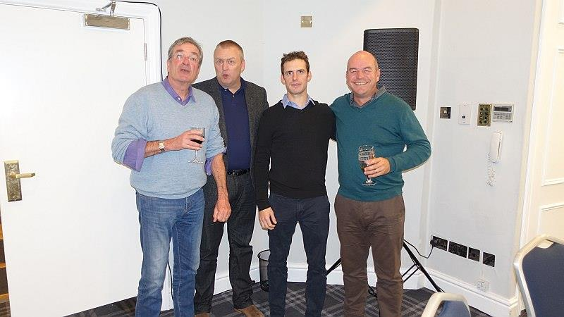Likely lads? Nick Coook. John Battershall, David Bass and Graham Lloyd