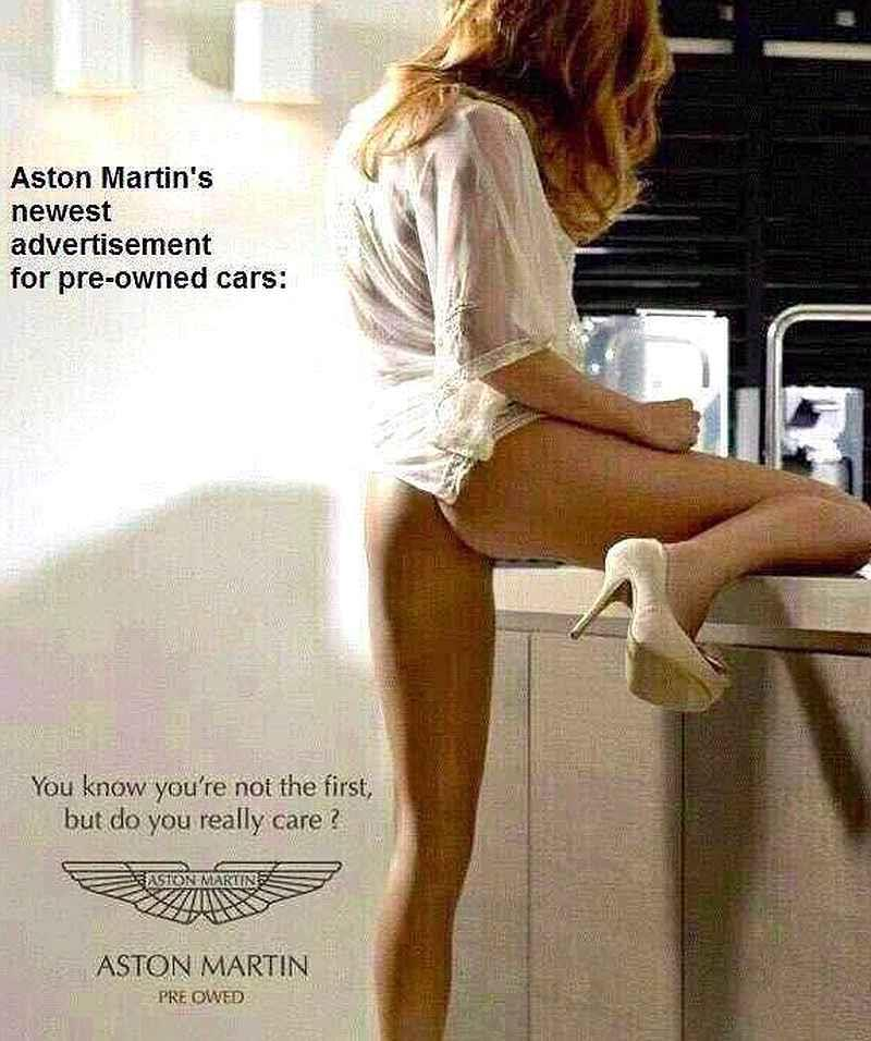 David Shuttle likes Aston Martins...