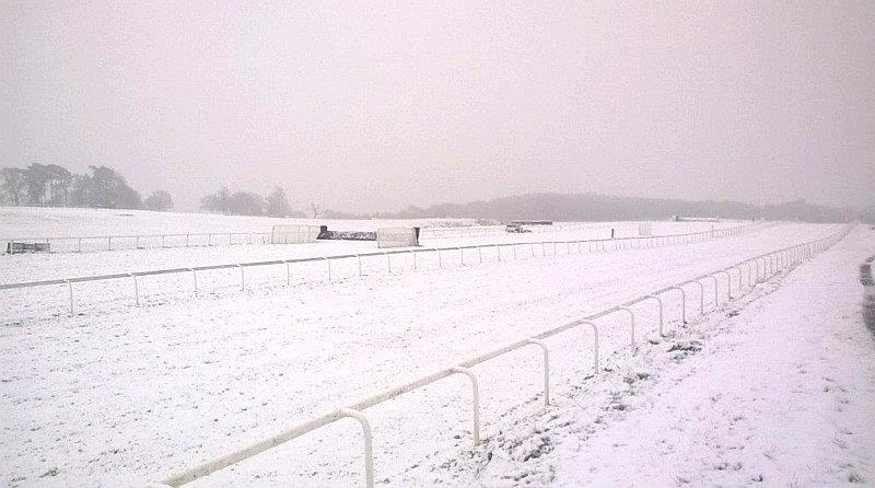24 hours later.. Chepstow. Keith Ottesen sent this picture over