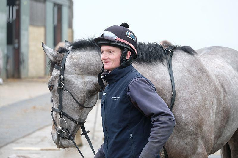 Mikey Hamill and Mr Grey Sky