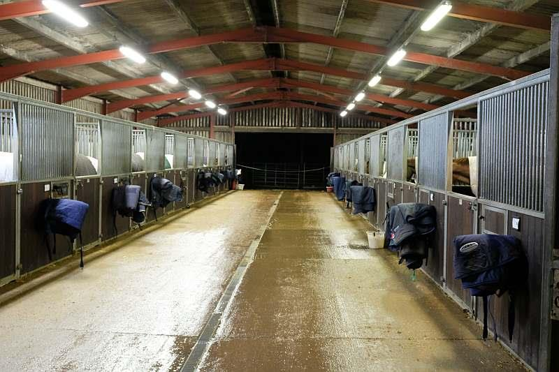 All tidy and horses fed.. bed time
