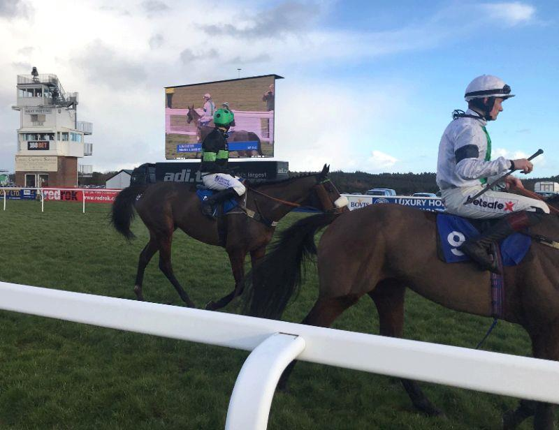 We are all on the TV screen David.. Harry Topper returning after his run