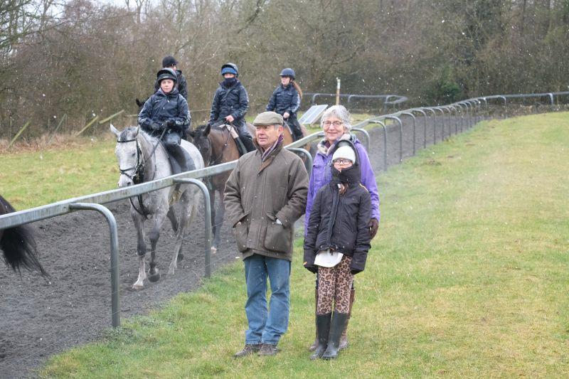 The Wilks's looking warm on the gallops