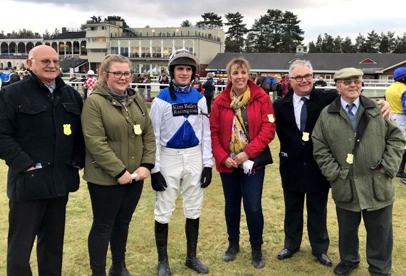 David Bass and Milord's support team at Ludlow