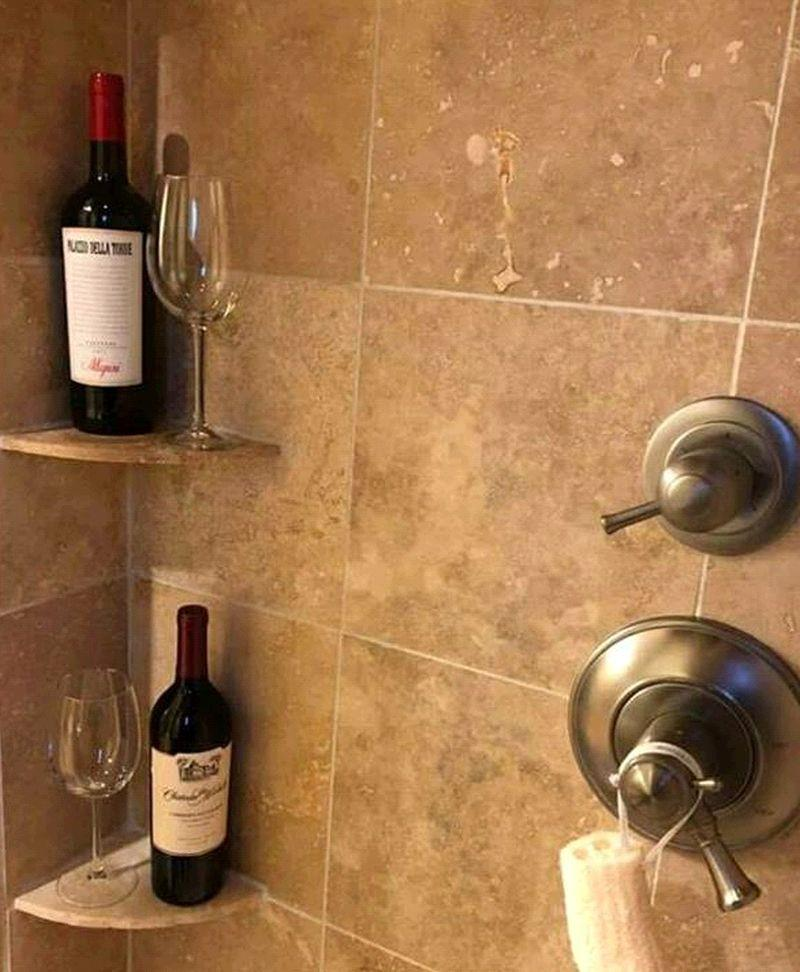 Told to have a bar in the shower.. I think they meant soap..
