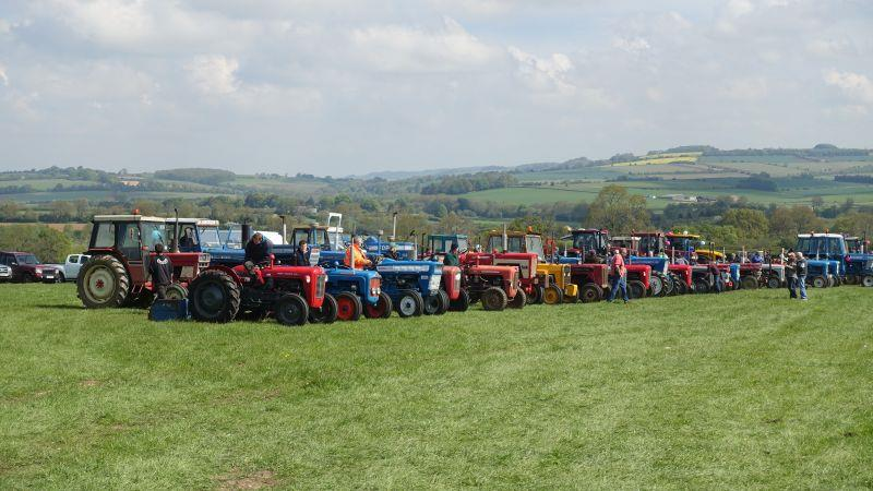 Yesterdays tractor rally