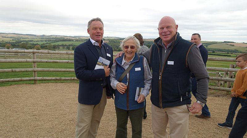 Martin Jones, Elizabeth Kellar and Graham Potts