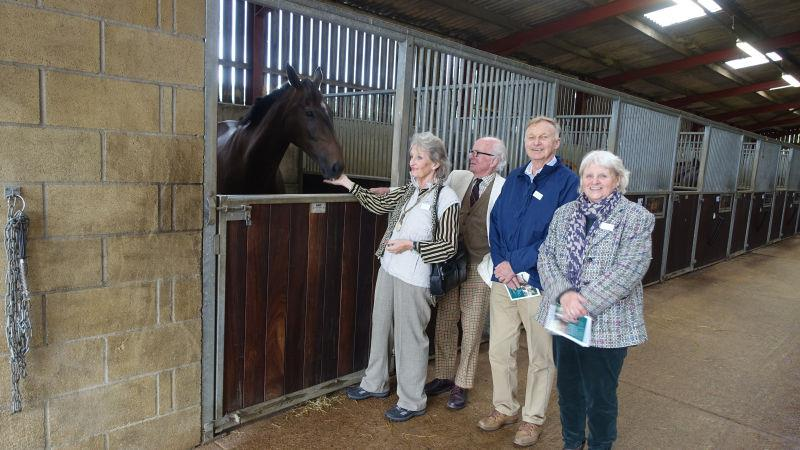 Vinndication with owners, Sandra and Philip Arkwright, Colin Stewart and Susan Brien