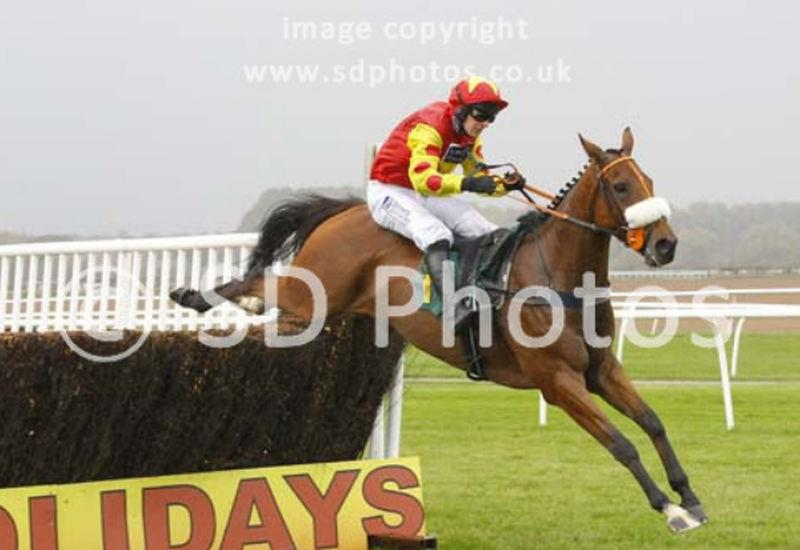 Steve Davies of sdphotos.co.uk sent his one over of Dandy Dan jumping the last