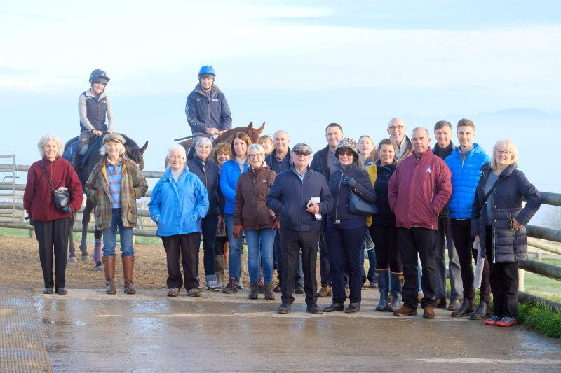 The team from The British Horse Society