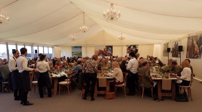 Highclere Thoroughbreds lunch