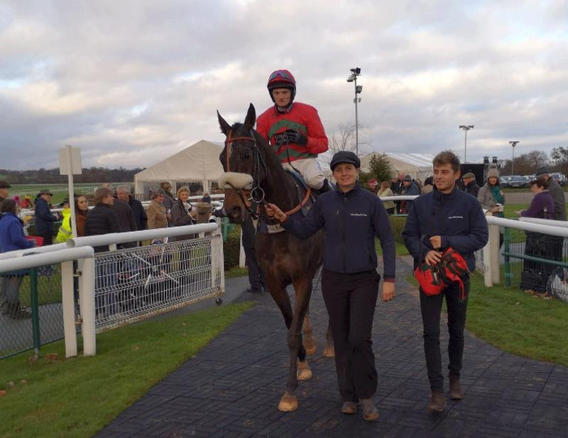 Wandrin Star and Mikey Hamill return to the winners enclosure