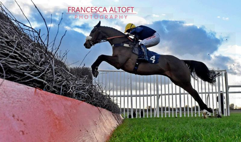 Great picture from Francesca Altoft of Charbel jumping the last