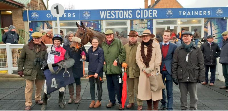 Bandon Roc and a very happy team of owners