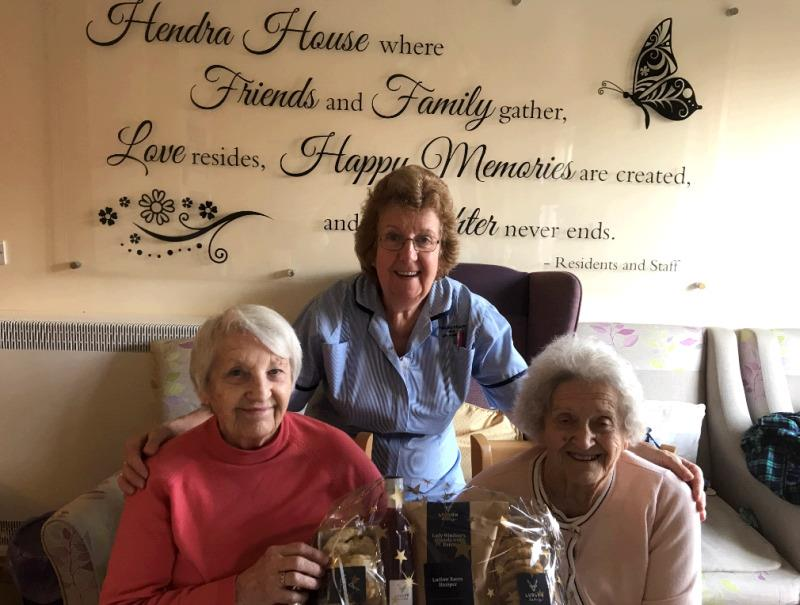 The food hamper that Subway Surf won at Ludlow was donated to the residents of Henrda House in Ludlow