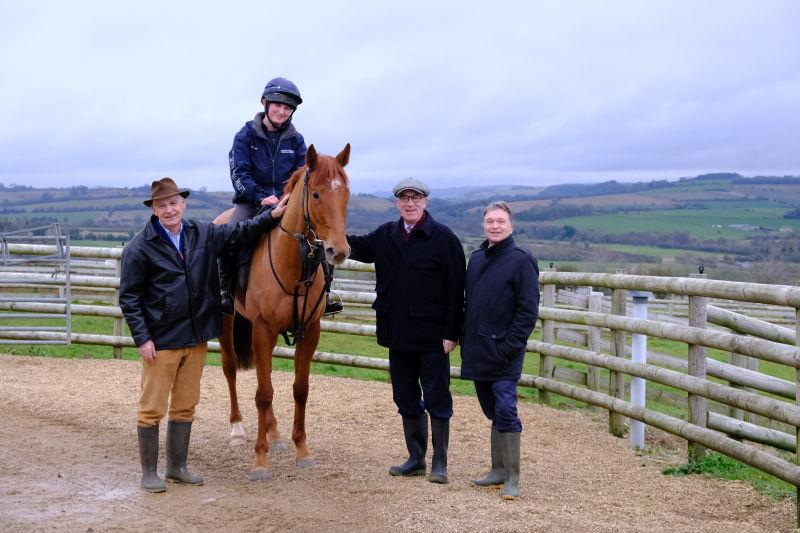 Shantou Express with owners Terry, John and Keith