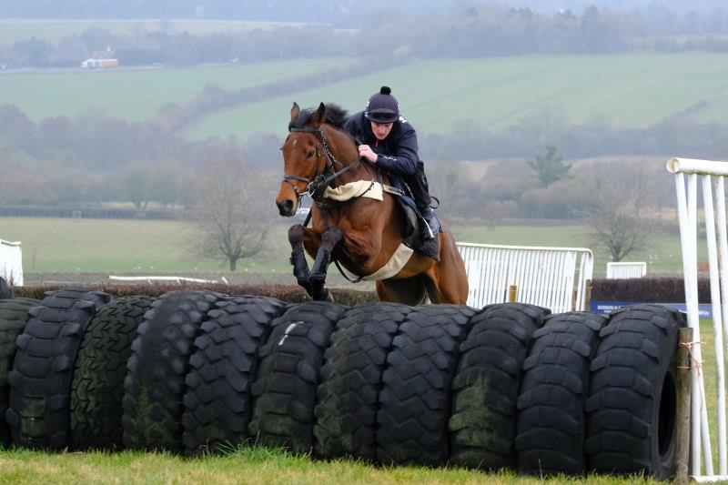 Rocks Treasure had a jump this morning.. RT runs at Doncaster tomorrow.