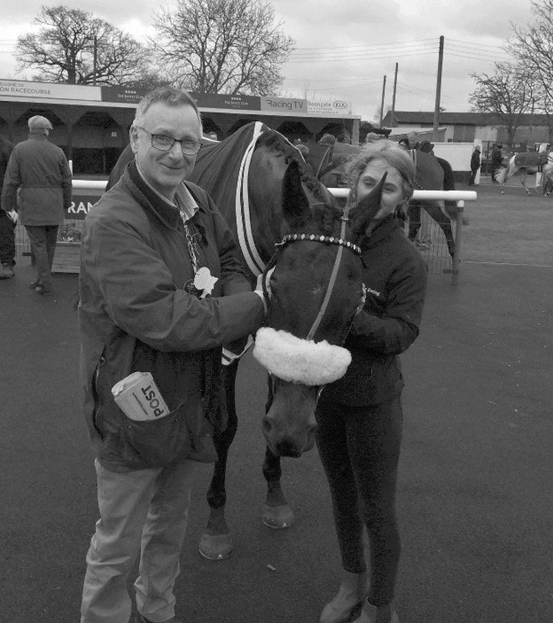 Stuart Ballantyne with his horse Arthurs Sixpence who was second.