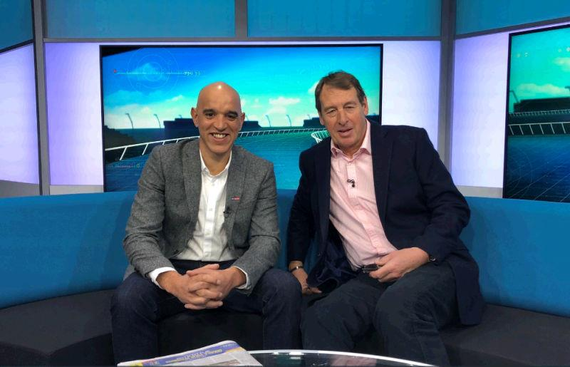 On the Sky Racing Sofa with Josh Apiafi