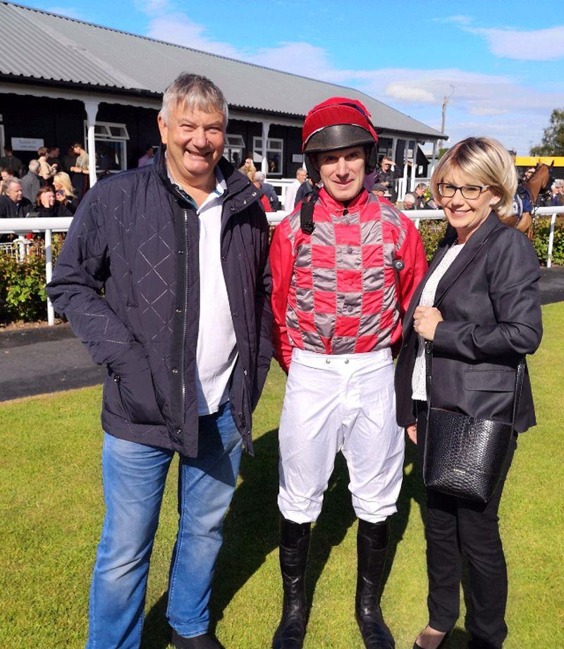 Andy and Ali Sulin at Uttoxeter yesterday
