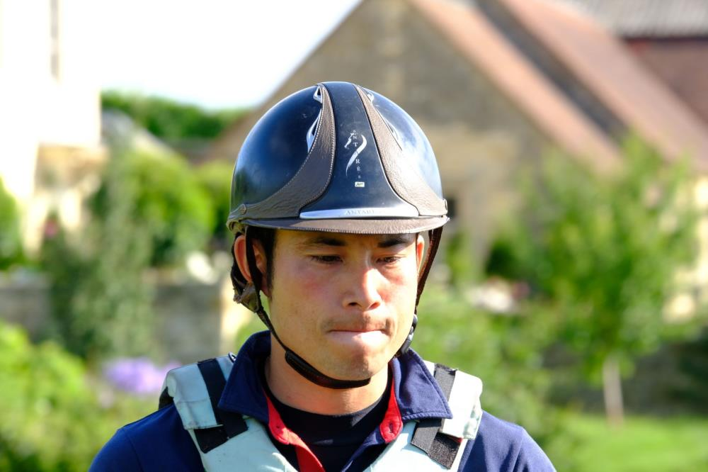 Our guest rider today is Sabu.. Sabu is a member of the Japanese Event team