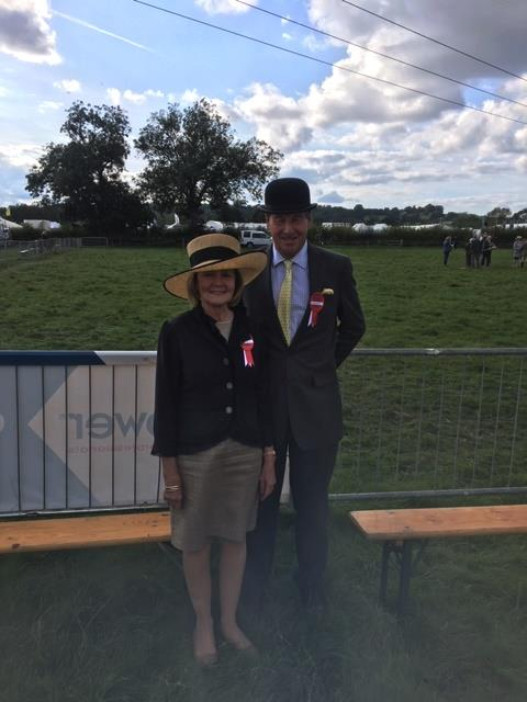Mary Dulverton and her co judge..