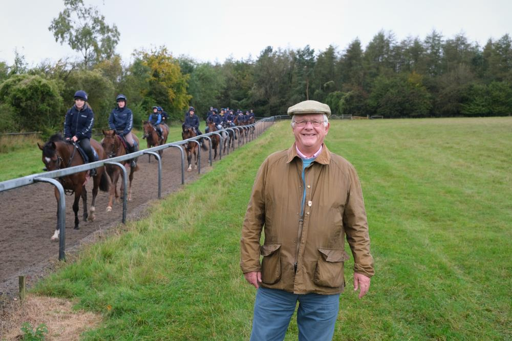 Bob Mackenzie on his first visit to Thorndale