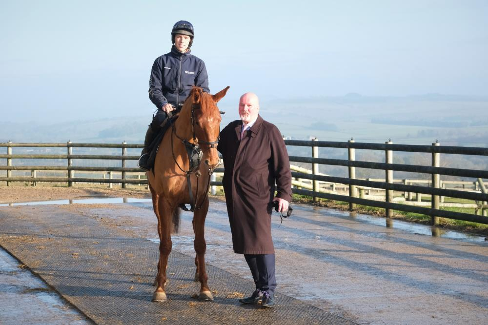 Imperial Icon with his owner Philip Hedges