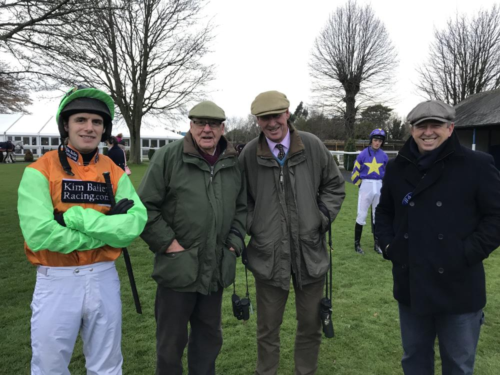 David, John Stanley, me and Paul Higgs before Drumreagh's race