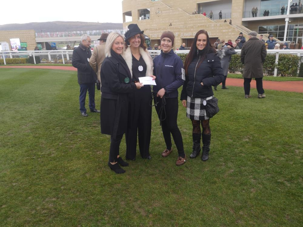 Best Turned out prize for Lauren Jack who looks after Imperial Aura