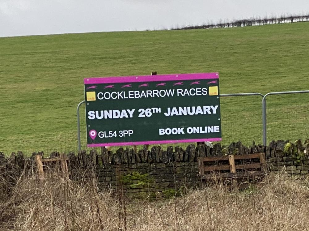 Cocklebarrow races, a local Point-to-Point on next weekend