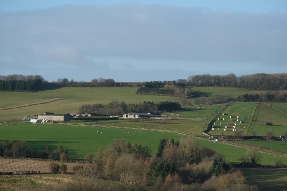 Thorndale Farm from the A4 late morning