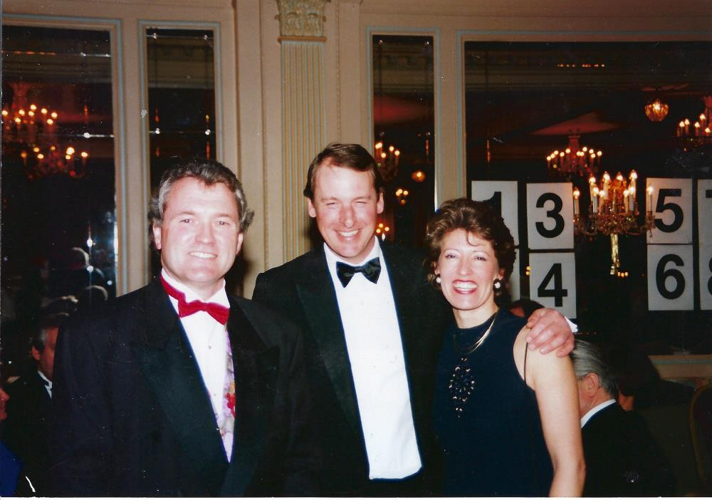 Bloody hell.. how long ago was this taken? Kevin and Mary Clancy with KCB..