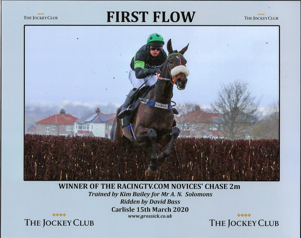 First Flow's winning picture from Carlisle