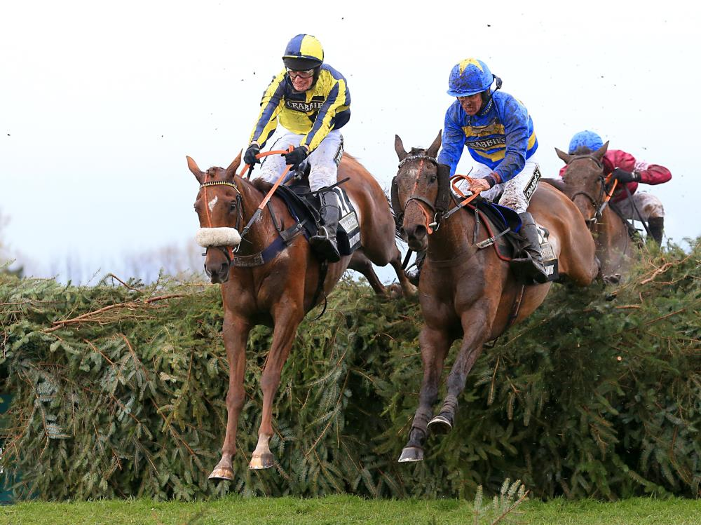 If Only again.. Paul and Clare Rooney's The Last Samuri second in the Grand National.