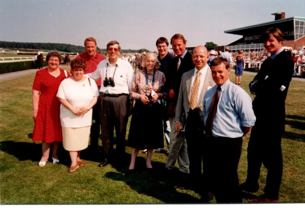 Racing Club KCB team outing at Market Rasen