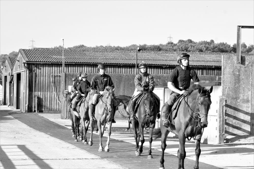 Leaving the yard first lot